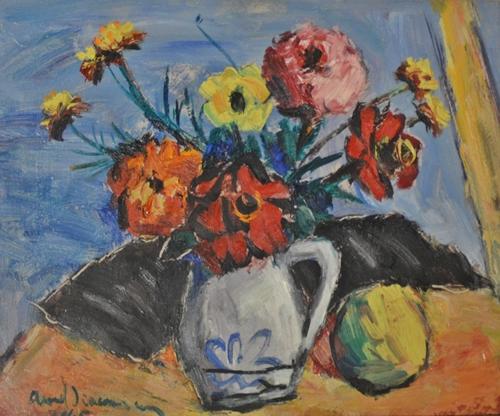 AUREL DIACONESCUVas cu flori/ Vase with Flowers