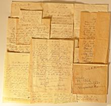 10 scrisori adresate sculptorului Friederich Storck de familia poetului Alexandru Macedonsky / 10 letters from poet Al. Macedonsky family to the artist Friederich Storck