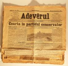 4 ziare vechi/ 4 old newspapers