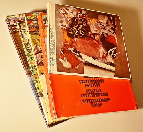 Cinci albume de artă contemporană/ 5 catalogs of romanian art