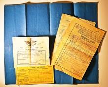 Diverse documente legate de familiile Cantacuzino și Butculescu/ Documents about Cantacuzino and Butculescu Family