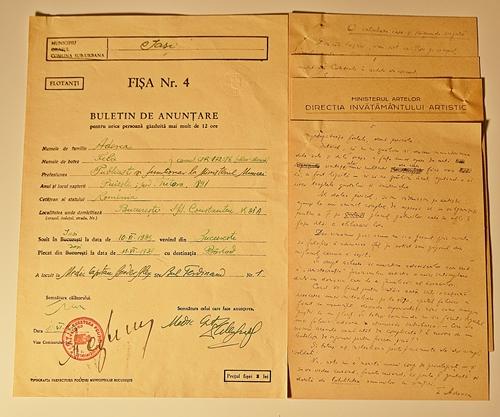 Două documente / two documents