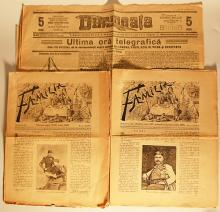 Două ziare vechi/ Two old newspapers