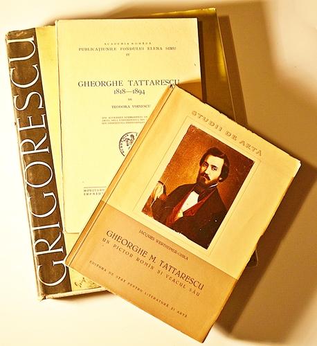 Monografii despre Ghe. Tătărescu și N. Grigorescu/ Monographic studies about Ghe. Tattarescu and N. Grigorescu
