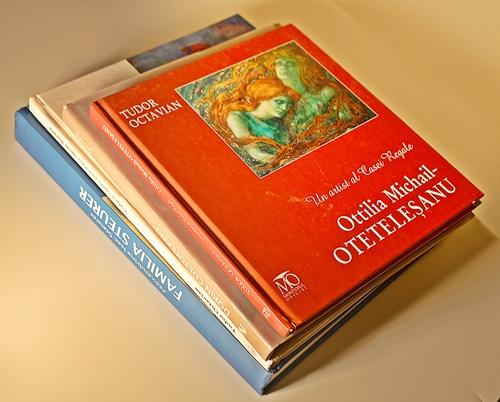Patru albume de artă despre artiști / 4 volumes about artists