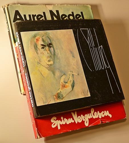 Trei albume de artă / 3 art catalogs
