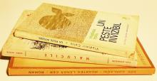 Trei cărți cu dedicație către Sașa Pană/ Three books dedicated to Sasa Pana