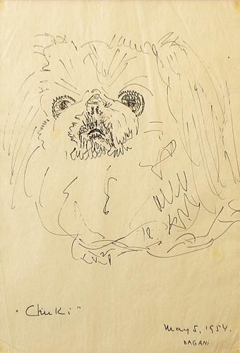 Arnold Daghani (1909 - 1985) Chuki