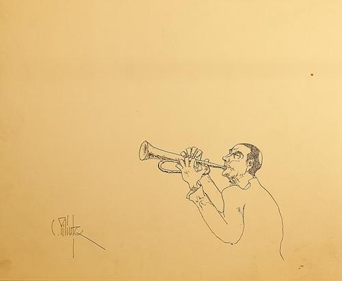 Constantin Piliuță (1929 - 2003) Lăutar / The musician