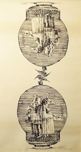 Ștefan Câlția Trei + trei personaje / Three+ three characters