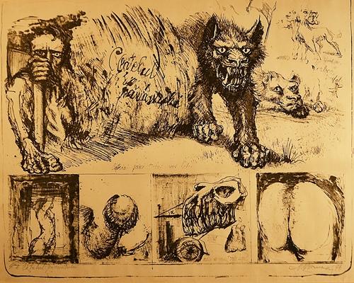 Marcel Chirnoagă (1930 - 2008) Cățelul pământului / Earth Dog