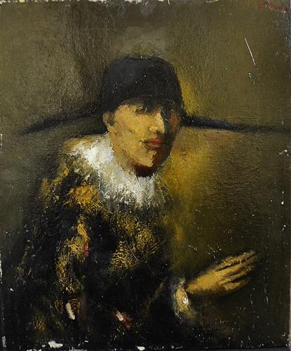 Mircea Ciobanu (1950-1991) Arlechin / Harlequin