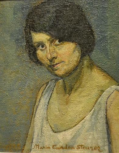 Maria Ciurdea Steurer (1878-1967) Autoportret/ Selfportrait