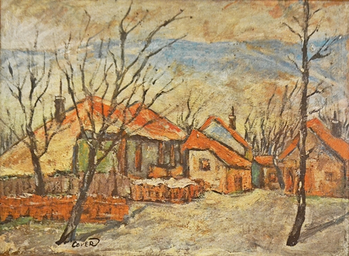 Vergil Cojocaru (Cover) (1938 - ) Margine de București - Iarna / Near Bucharest -Winter