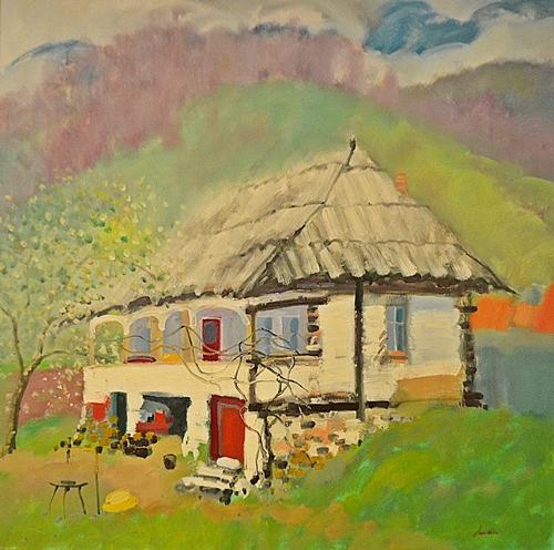 Constantin Daradici Casa bătrânească/ Old house