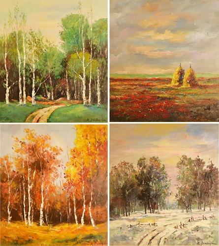 Radu Dărângă (1944 - ) Anotimpurile / The seasons