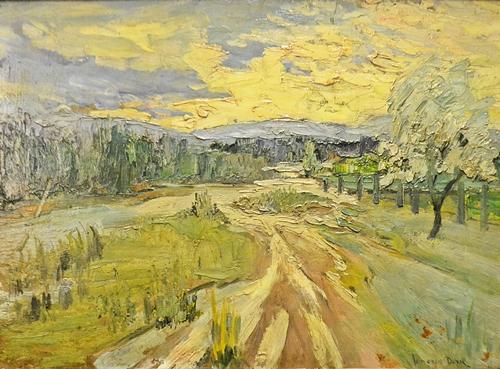 Doru Gheorghe Ionescu (1889-1988) Pe albia râului/ On the river