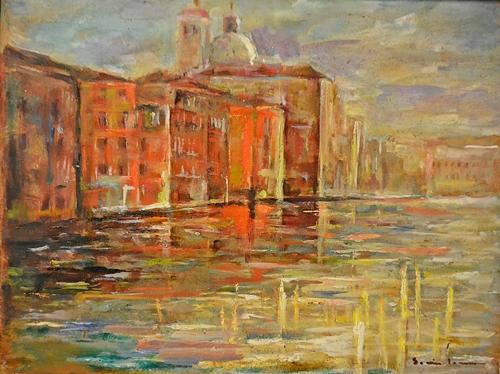 Sorin Ionescu (1913 - 1999) Veneție / Venice