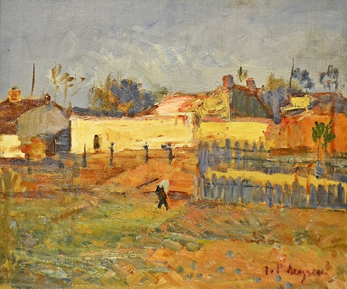 ION POPESCU NEGRENI (1907 - 2001) La marginea orașului / The edge of the city
