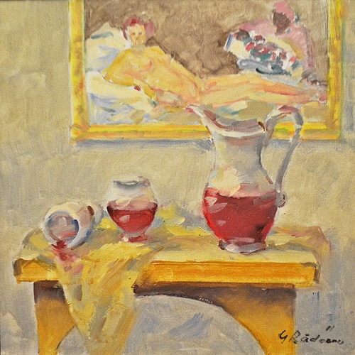 RĂDEANU GEORGE n. 1950- Nostalgii impresioniste/ Impressionist nostalgia