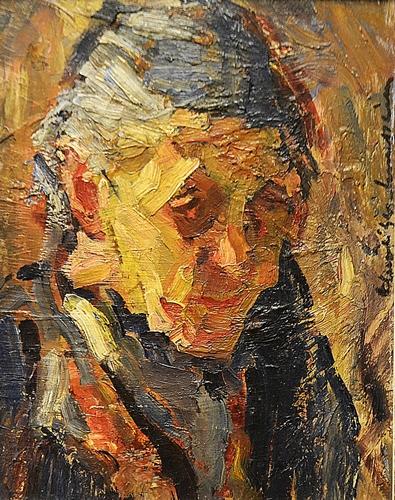 Rudolf Schweitzer-Cumpăna (1886-1975) Bunicuța / Grandma