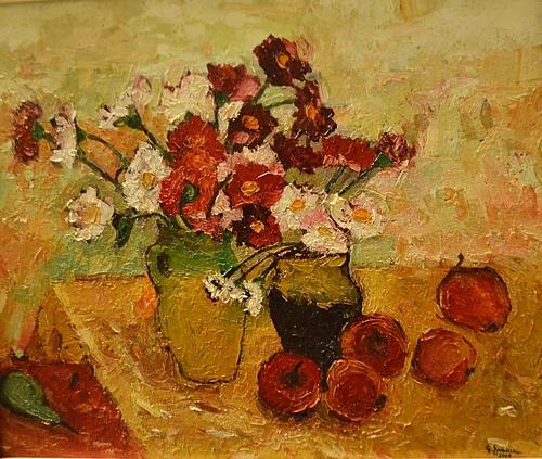 George Șpaiuc (n. 1964) Dumitrițe /Autumn Flowers