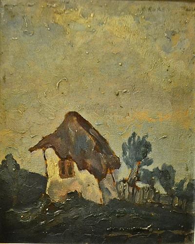 Iosif Steurer (1885 - 1971) Casa singuratică / House in wilderness