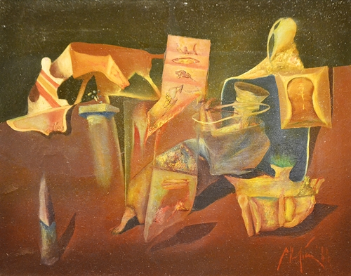 Petre Velicu (1950 - ) Compoziție / Composition