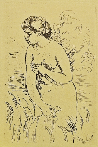 Pierre-Auguste Renoir (1841-1919) La baigneuse