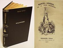 Manuel generale de maconnierie comprenant les sept grads du rit francais