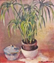 Alexandru Moscu (1896-1979) - Natură statică cu plantă / Still life with a plant