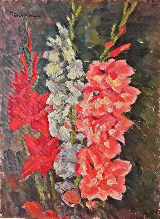 Mănciulescu Apostol (1887-1962) - Gladiole