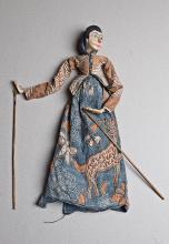 Marioneta Wayang Golek / Wayang Golek puppet