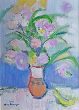 Augustin Costinescu (1934- ) Flori / Flowers