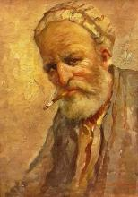Bogdanovici Samuel(sec. XX) Fumătorul bătrân / The old smoker