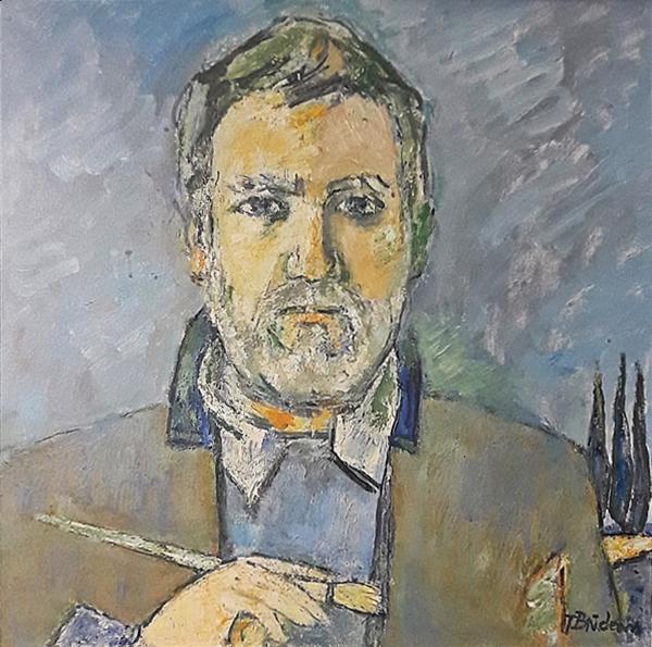 Brădean Traian (1927-2013) Pictorul- Un necunoscut / The Painter - a stranger