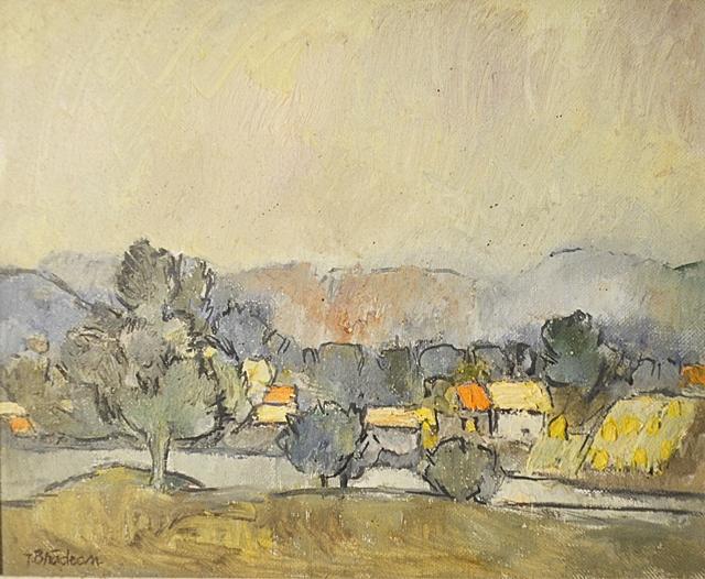Brădean Traian (1927-2013) Buzăul / Buzău River