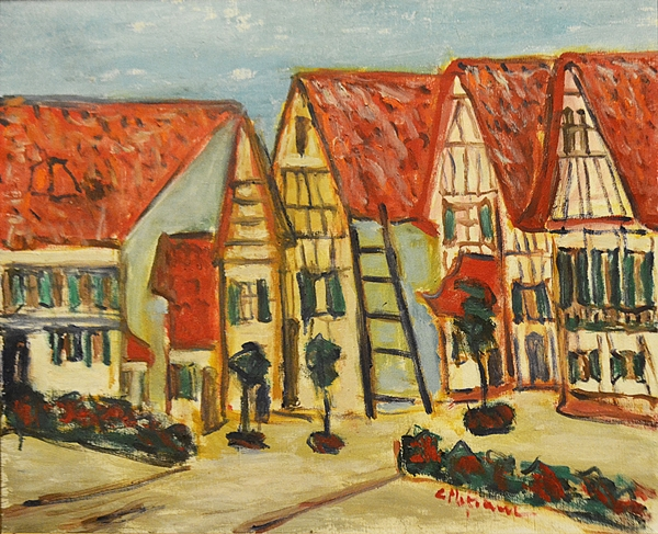Coca Mețianu (1910 - 2014) Peisaj citadin / Citadin Landscape