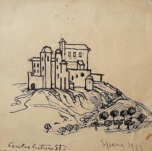 Cuțescu Storck Cecilia (1879-1969) Cetate spaniolă / Spanish Citadel