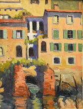 Georgescu  H. Marin (1886-1932) Case din Italia / Houses in Italy
