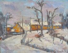 Ghia?a Dumitru (1888-1972) Iarna / Winter