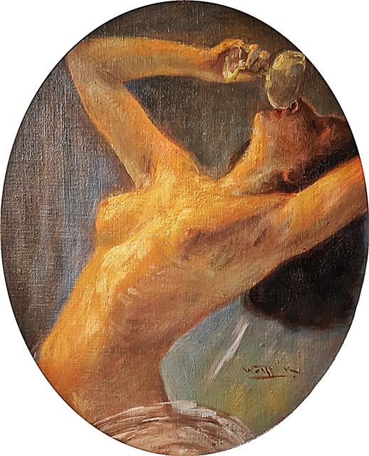 Karoly Wolff (1869-1944) Nud / Nude