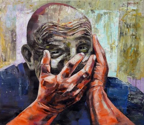 Mihăiești Dumitrescu Sorin (n. 1961) Portret de insomnie / Insomnia Portrait