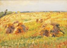 Molda Paul (1884-1955) Strânsul fânului / Hay crops