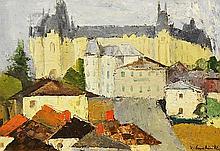 Nicolae Constantin (n. 1936) Peisaj din Ia?i / Landscape in Ia?i