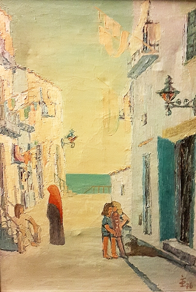 Olariu Iulian (1922-1991) Peisaj din Baleare / Landscape in Balearic