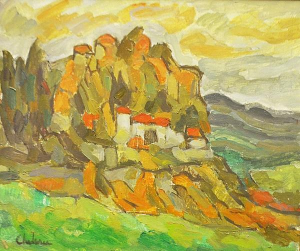 Uță Chelaru Elena (1930-2013) Castelli Romani /  Castelli Romani