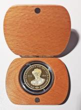 Moneda din aur 150 ani de a na?terea dramaturgului român I.L.Caragiale/Legal tender gold coin ?150 Birth Anniversary of the Romanian Dramatist I. L. Caragiale?