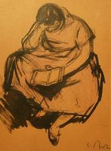 Corneliu Baba (1906 - 1997) - Lectura / Reading