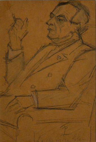 Theodor Pallady (1871 - 1956) - La chemise bleue